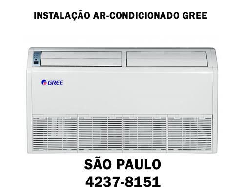Instalação ar-condicionado Gree