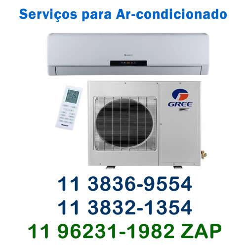 serviços ar condicionado Gree