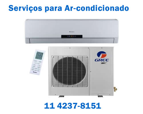 Serviços para ar condicionado Gree