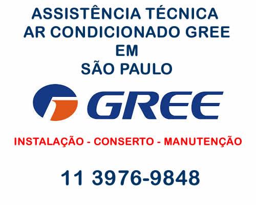 Assistência técnica ar condicionado Gree