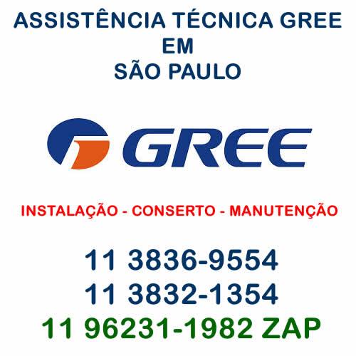 assistência técnica Gree