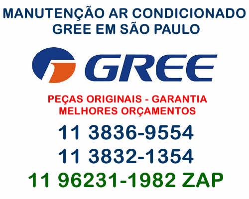 manutenção ar condicionado Gree