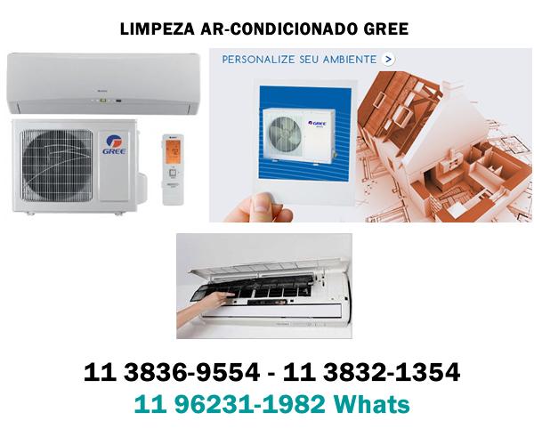 limpeza ar-condicionado gree