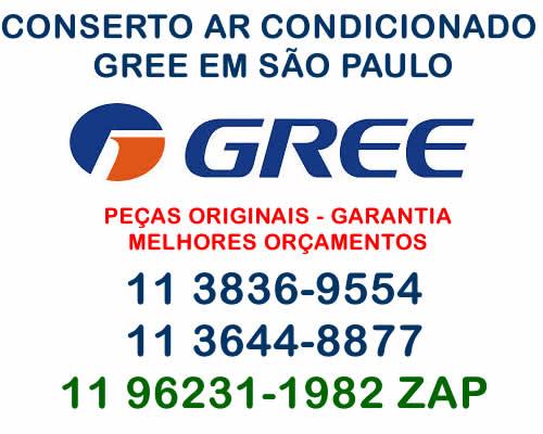 conserto ar-condicionado Gree