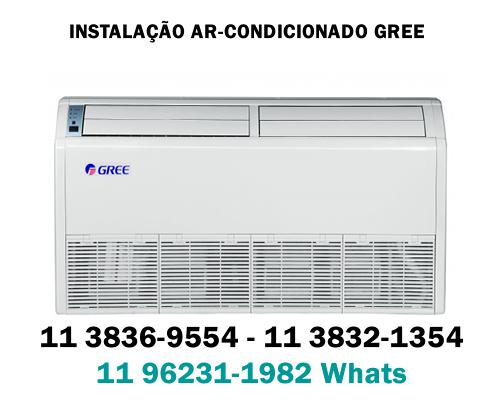instalação ar condicionado Gree