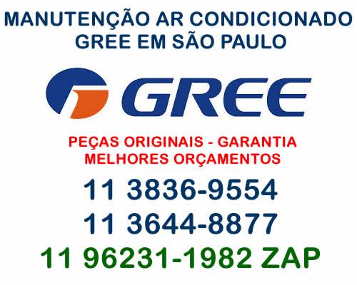 manutenção ar-condicionado Gree