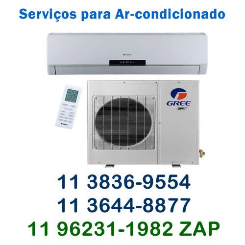 serviços para ar-condicionado Gree