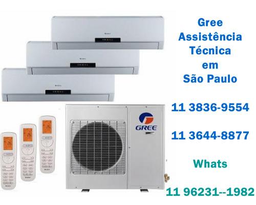Gree assistência técnica ar-condicionado
